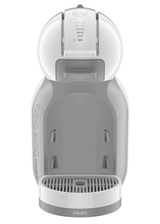 Presentamos el modelo estrella de Krups, la cafetera KP1201 Nescafe Dolce Gusto Mini Me. Se trata de una cafetera monodosis, con 1500W de potencia y un diseño elegante.