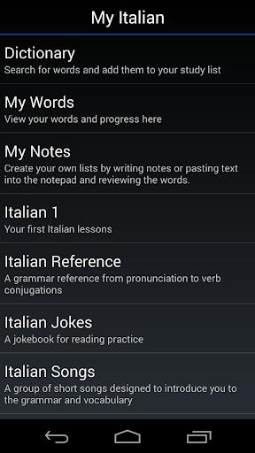 My Italian