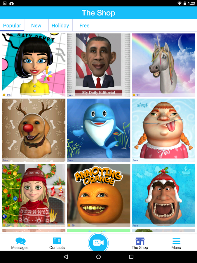 Pocket Avatars - screenshot