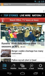 WBAL-TV 11 News and Weather - screenshot thumbnail
