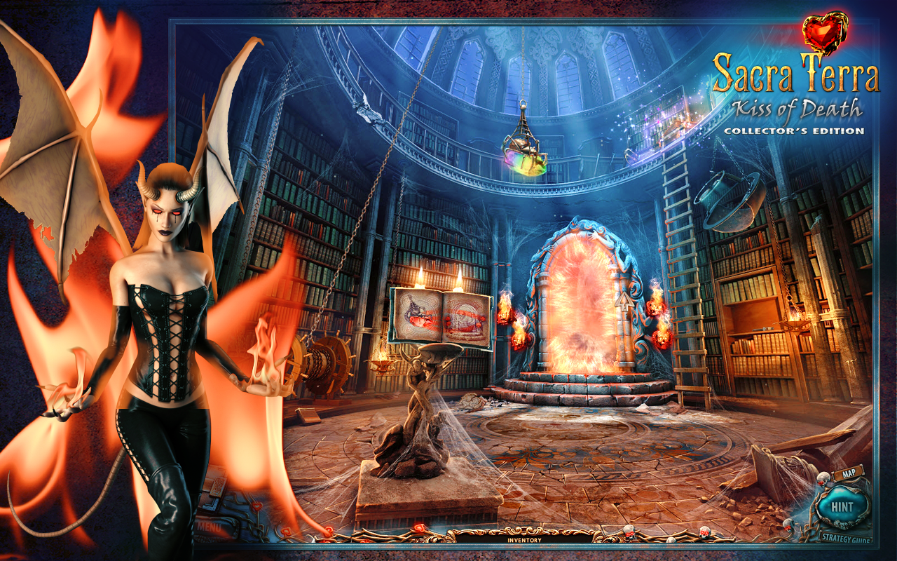 Sacra Terra: Kiss of Death- screenshot