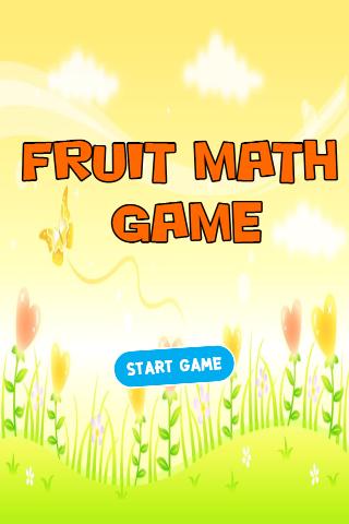 Fruit Math Game
