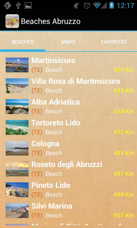 Italian Beaches Abruzzo - screenshot