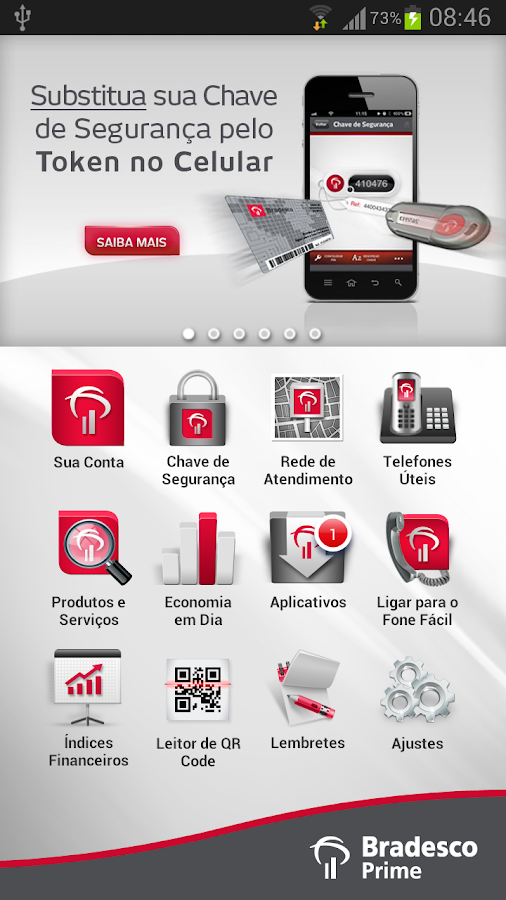 Bradesco Prime - screenshot