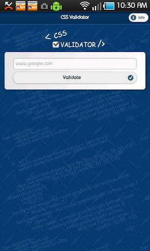 Simple CSS Validator