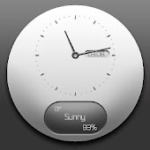 Whitewindow analog clock uccw