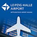 Flughafen Leipzig/Halle logo