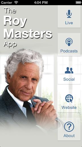 Roy Masters Advice Line App
