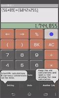 Screenshot of SpeedCalc Free