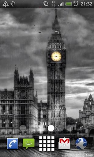 London Clock Live Wallpaper