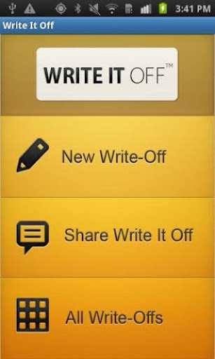 Write it Off Free App