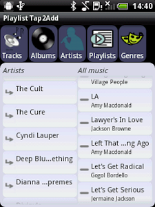 Playlist Tap2Add screenshot 1