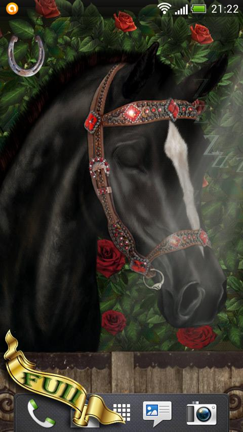 Arabian Horse Free Wallpaper- screenshot
