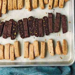 Lemon, Olive Oil, and Almond Biscotti.
