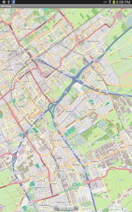 Bucuresti Street Map- screenshot