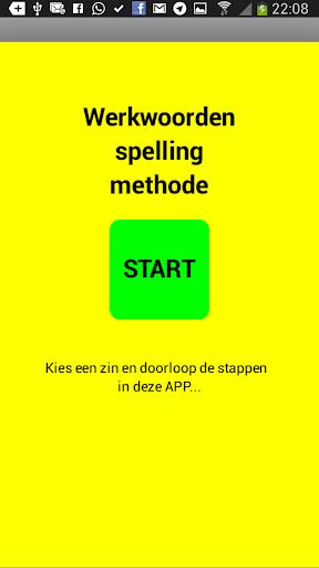 Werkwoorden spelling methode