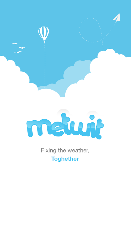 Metwit Social Weather Forecast - screenshot