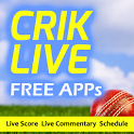 CRIK LIVE - Live Cricket icon