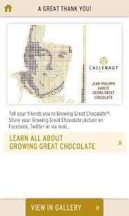 Callebaut - Calletizer™- screenshot thumbnail