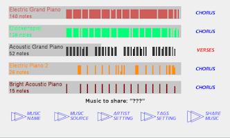 Screenshot of Little Concert BETA