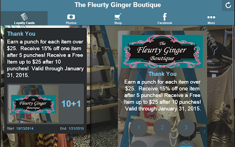 The Fleurty Ginger Boutique screenshot 2