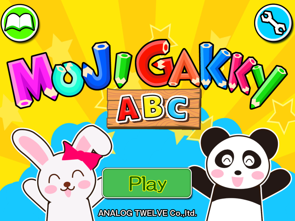 MojigakkyABC for Kids Alphabet- screenshot