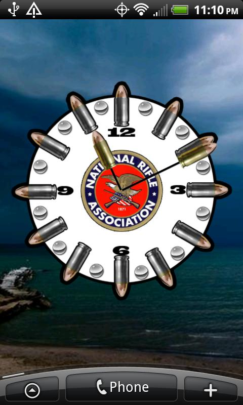 NRA Logo Clock ★ Widget ★ - screenshot
