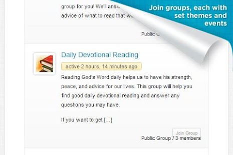 Bible Classes & Devotionals - screenshot thumbnail