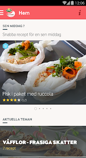 Arla Köket recept - screenshot thumbnail