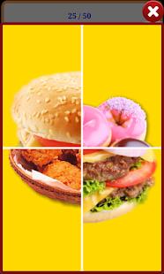 【免費教育App】食物單字圖卡/拼圖-APP點子