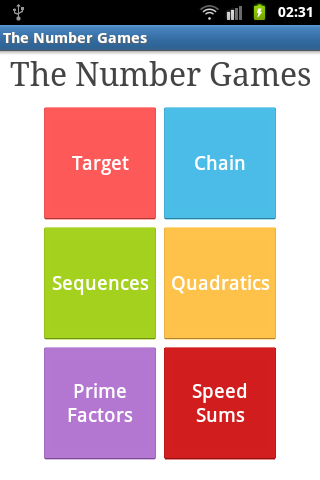 The Number Games