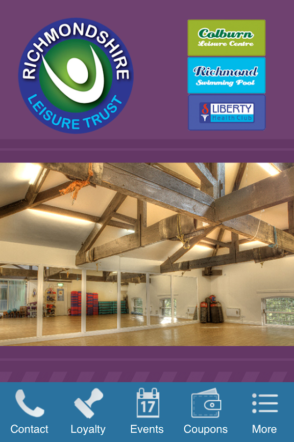 Richmondshire Leisure Trust- screenshot