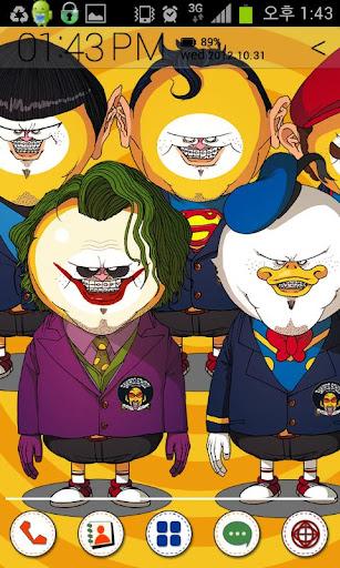 Lemon_Super Heroes Multi Theme