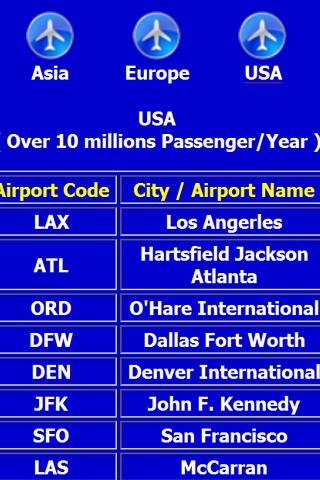 Airport code iata android apps on google play airport code iata screenshot sciox Image collections
