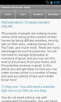 Screenshot of Startup & Business Ideas
