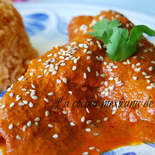Grandma's Pipian Sauce Chicken.