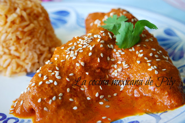 Grandma's Pipian Sauce Chicken