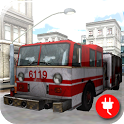 Fire Truck Parking 3D icon