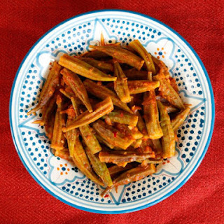 Middle Eastern Okra - Bamya.