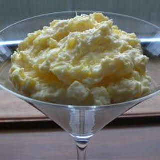 Pineapple Pudding.