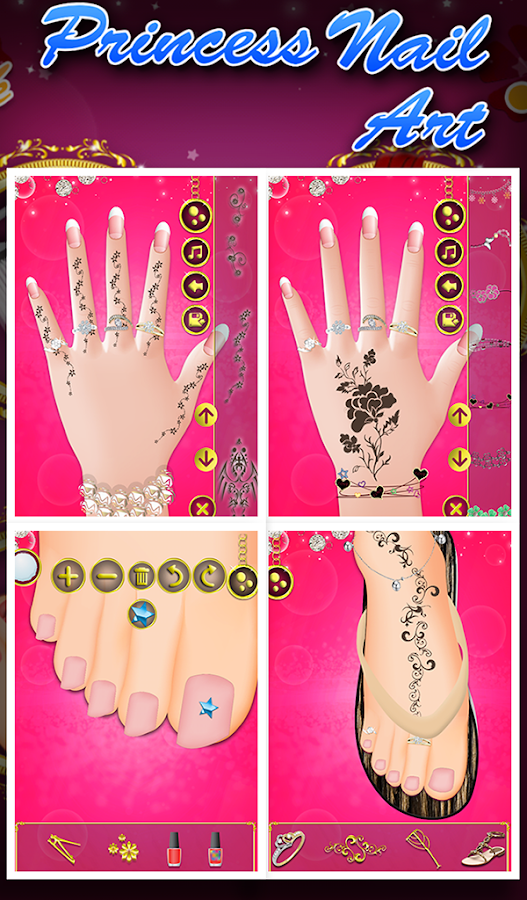 Princess nail art android apps on google play princess nail art screenshot prinsesfo Gallery