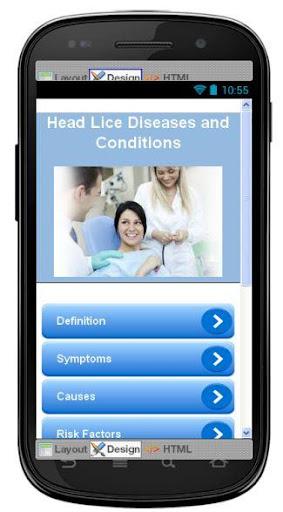 Head Lice Disease Symptoms