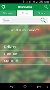 RoundMenu Restaurant Discovery - screenshot thumbnail