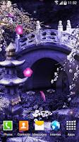 Screenshot of Mystic Sakura Live Wallpaper
