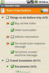 Checkmark To Do & Task List- screenshot thumbnail