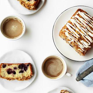 Lemon, Poppy Seed and Blueberry Streusel Pound Cake