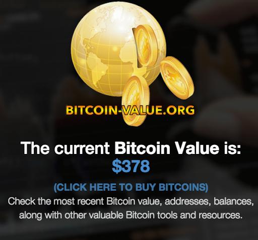Bitcoin Value Price Info Tools