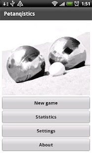 Petanque statistics demo - screenshot thumbnail