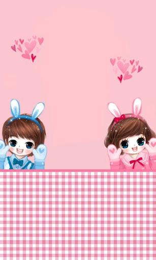 CUKI Theme Rabbit wallpaper