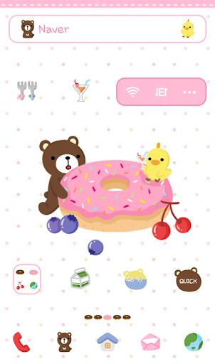 달곰 피비 달콤 도넛 도돌런처 테마